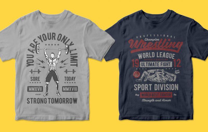 400 tshirt designs printify
