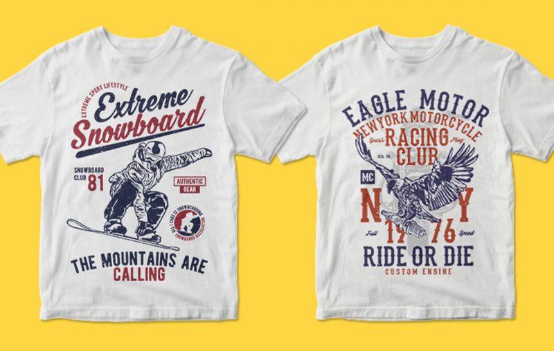 400 tshirt graphic bundle