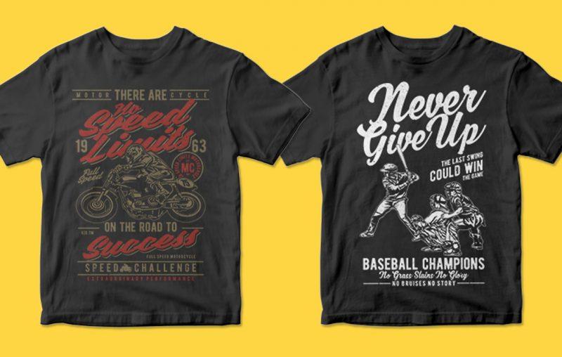 400 t shirt designs for pod