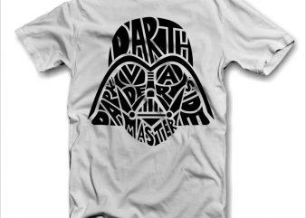 Darth Vader t shirt design to buy