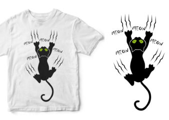 cat design buy t shirt design