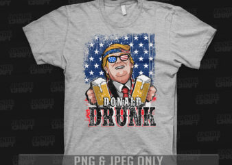 Donald Drunk ( Funny Drunk shirt )