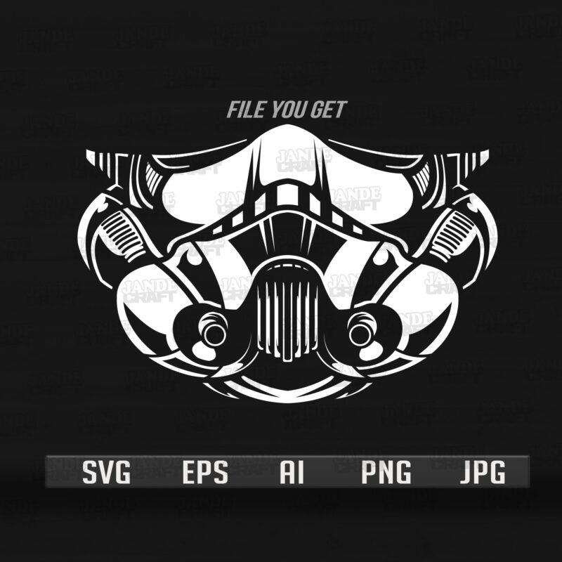 Storm Trooper FaceMask Design