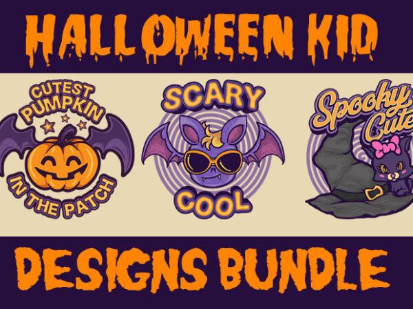 Halloween Kid Bundle graphic t shirt