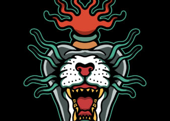 tiger burn tattoo