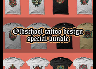 oldschool tattoo design special bundle
