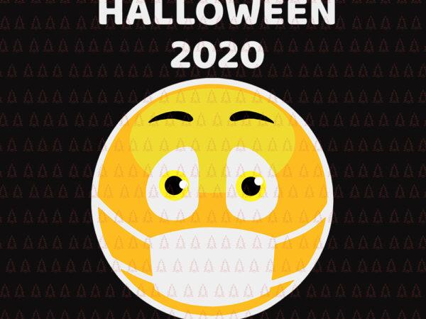 Halloween Costume Face Medical Mask Emojis Party Halloween 2020 Emojis Svg Halloween 2020 Emojis Halloween 2020 Emojis Face Mask Svg Halloween Svg Buy T Shirt Designs