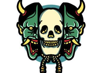 skull in oni