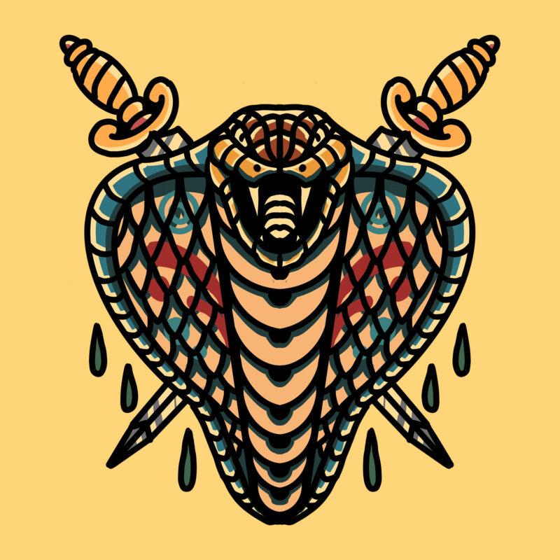cobra and dagger