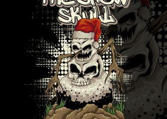 the snowman skull