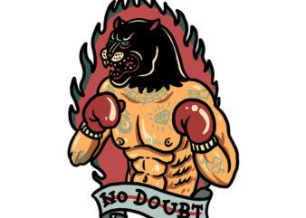 boxing panther