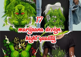 16 marijuana design hight quality bundles
