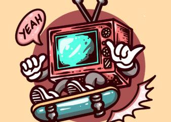 skateboarding television