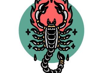 burning scorpion