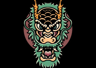 dragon t-shirt design for sale