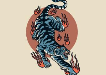 oriental tiger oldschool