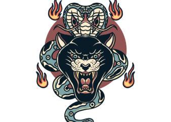 panther and cobra