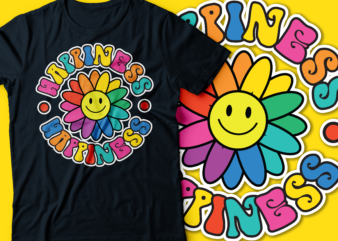 happiness happiness psychedelic flower smiling