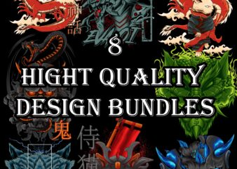 8 hight quality design bundles