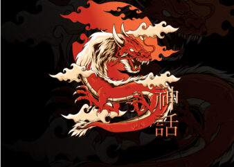 dragon japanese style