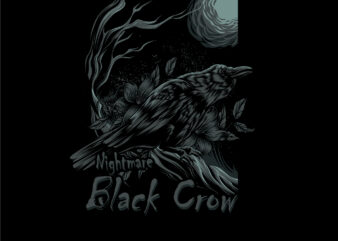 nightmare black crow2