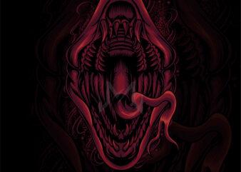 snake dark art