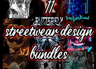 11 streetwear design bundles