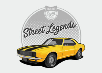 Muscle Car Yellow – Street Performance
