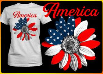 America Sun flower
