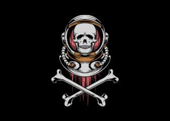 astronaut crossbone