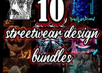 10 streetwear design bundles