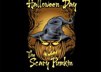 the scary pumkin (happy halloween day)