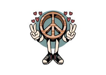 make peace cartoon