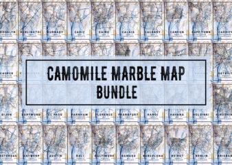 Camomile Marble Map Bundle