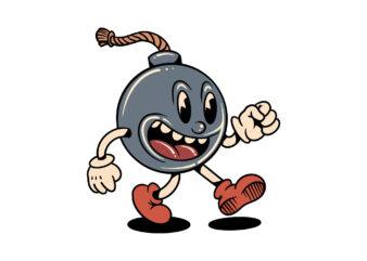 naughty bomb cartoon