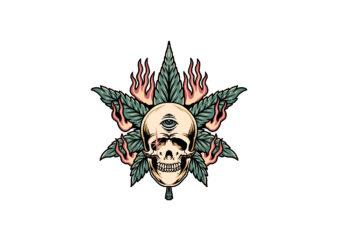 skull ganja