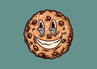 smiling cookies cartoon