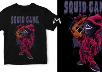 squidgame hiphop dj