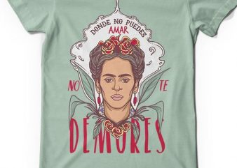 No te demores buy t shirt design artwork