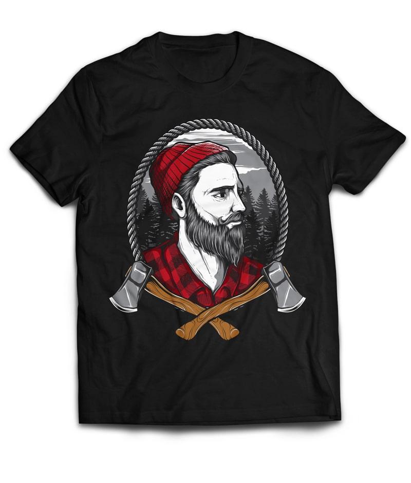 LUMBERJACKZZ tshirt design for sale