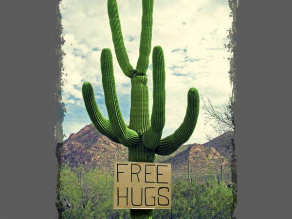 Free Hugs t shirt graphic design