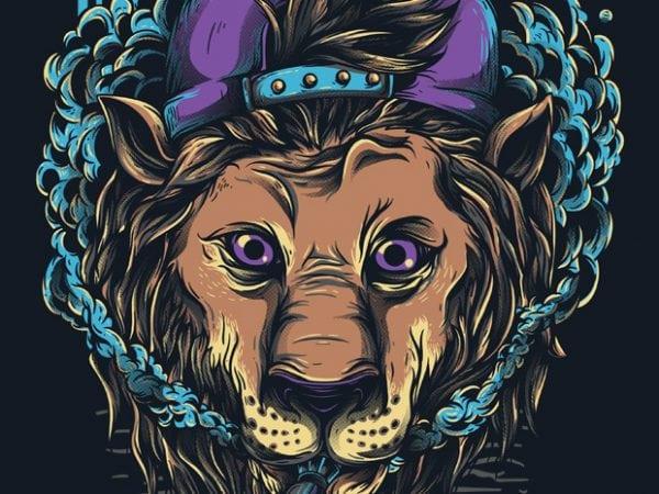 naughty lion 600x450 - Naugthy Lion buy t shirt design