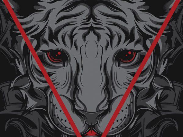 Resurgence Tiger t shirt design online